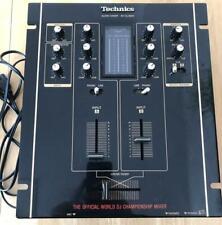Technics SH-DJ1200 World DJ Championship Audio Mixer w/Cable From Japan Used