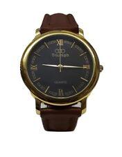 Triumph Audi Olympics Roman Numerals Quartz Wrist Watch Wristwatch