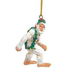 Design Toscano Bigfoot the Abominable Snowman Yeti Holiday Ornament: Set of T.