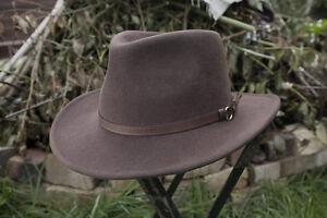 Outback Autumn/Fall Flexfelt/Soffelt Bush Hat Olney Headwear 100% wool S/M/L/XL