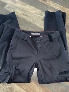 Dickies Women's  Relaxed Cargo Pant Black Size 6R