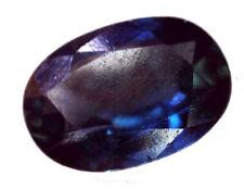 Zafiro azul natural sin calefacción ni tratamientos 0,56 kilates