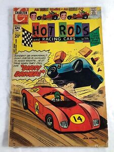 HOT RODS and Racing Cars #113 1972 Fine Bronze Age Charlton Comic