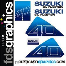 Suzuki DT40hp outboard engine graphics/sticker kit