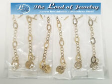 Lot of 6 Stainless Steel Bracelets for Women. Wholesale price. - 103DOZ