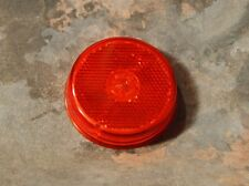 "RED  2.5"" inch Truck Trailer Sealed Side Marker Light w/Reflex ~ Peterson V143R"