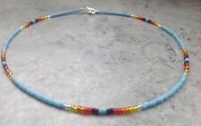 Native American Indian Glass Beaded Necklace Various Styles & Sizes