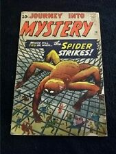 1961 MARVEL COMICS JOURNEY INTO MYSTERY #73 REVERSE SPIDER-MAN PROTOTYPE KEY VG-