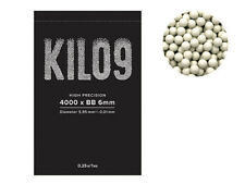 UK STOCK - AIRSOFT 4000RD ROUND 0.25G BB BULLETS AMMO 6MM WHITE PELLETS