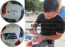 KEEGAN ROSENBERRY,PHILADELPHIA UNION,SIGNED,AUTOGRAPHED,MLS SOCCER BALL,PROOF