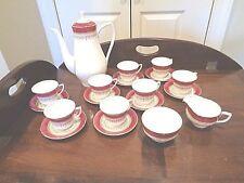 Royal Worcester Antique Regency Coffee/Tea set 20 pieces