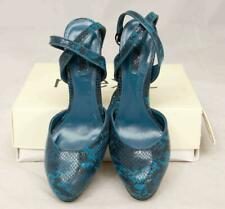 Ladies Teal NEXT High Heel Platform Shoes 5'' Uk Size 6 1/2 Lot SF40