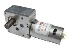 12 V 24 V dc engranaje helicoidal alto esfuerzo de torsión motor eléctrico 152:1 fuerte potente derecha