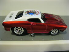 Muscle Machines MM Chevy Chevelle RR M2 HW Hot Wheels Real Riders Red Jackass