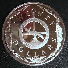 ILES VIERGES BRITANNIQUES - 20 DOLLARS 1985 - Argent - N°14