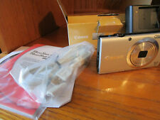 Canon PowerShot A2400 16.0 MP Digital Camera Silver New Open Box