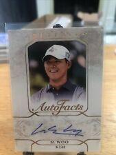 New listing 2021 Upper Deck Artifacts PGA Golf Si Woo Kim RC Rookie Autograph AUTO SP Card