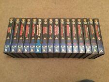 Vintage James Bond  VHS Video Collection