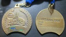 2008 OTTAWA RACE WEEKEND MARATHON MDS NORDION 10K CANADA MEDAL AWARD