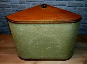 50er 60er Lautsprecherbox 50s Ecklautsprecher mit Lautstärkeregler Mid Century