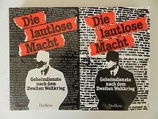 2 Bände Die lautlose Macht Geheimdienste nach dem Zweiten Weltkrieg Das Beste
