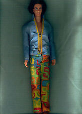 MOD HAIR KEN DOLL 1973 IN A MOD OUTFIT ROOTED HAIR EXC.