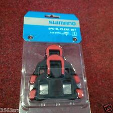 Shimano SM-SH10 SPD SL-cleats, fixed, red