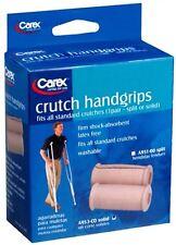 Carex Crutch Handgrips Solid A953-00 2 Each