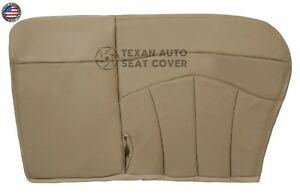 1999 Ford F150 Lariat 2WD Passenger Bench Leather Seat Cover Tan 60/40