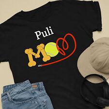 Puli Dog Mom and Dad Comfy Cute Dog Lover T-Shirt