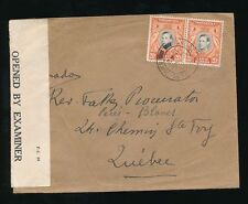 George VI (1936-1952) Cover British KUT Stamps