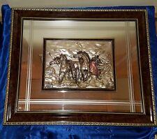 Spiegel Silber Bild 925 Arg. gemarkt ca. 72*62 cm Bild mit Spiegel Italien