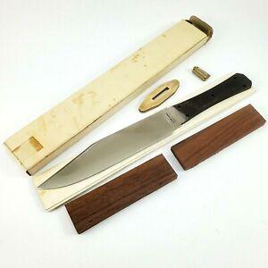 Vintage Japanese Parker Cutlery Co. DIY Bowie Knife Kit  11.5 Clip Point Blade