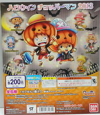 One Piece 2013 Halloween Figure Mascot Complete Set, 6pcs - Bandai   -  h#1