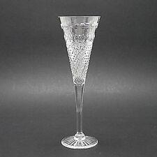"Stuart Crystal 'Beaconsfield' Pattern Champagne Flute/Glass - 23cm/9"" High"