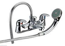 E-plumb Serie 11 Low Pressure Deck Mounted Bathroom Bath Shower Mixer Tap Hand