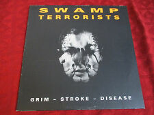 LP SWAMP TERRORISTS Grim - Stroke - Disease > Org. MACHINERA GER 1990