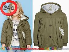 NEXT Mantel Jacke mit Kapuze mit Häschen für Mädchen 2-3 Jahre 98cm 15b