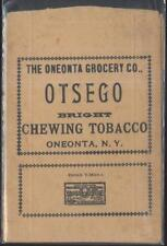 ONEONTA New York/NY  Grocery Store Otsego Chewing Tobacco Bag/Pouch 1910's?