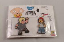 SDCC 2018 Toddland Family Guy CHRIS & MEG Pin Set LE 100 Comic Con Exclusive