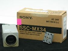 Sony SSC-MX34 Box Camera  (B/W)