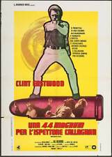MAGNUM FORCE Italian 2F movie poster 39x55 CLINT EASTWOOD DIRTY HARRY CALLAHAN