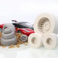 1Pc Car Tyre Silicone Fondant Mold Cake Decorating Sugarcraft Baking Mould Tools