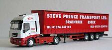 Eligor 1:43 Scale Iveco Stralis With Tautliner Trailer ''Steve Prince Transport'