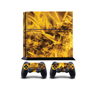 Marijuana Buds PS4 PlayStation 4 Vinyl Wrap / PlayStation 4 PS4 Skin Sticker ...