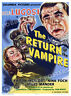 THE RETURN OF THE VAMPIRE LOBBY CARD POSTER OS/BEL 1943 BELA LUGOSI