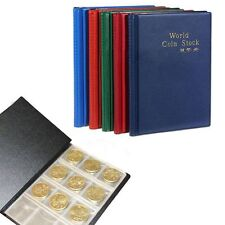 Money Good Quality Storage Coin Holder Album Book 120 Coin Collection