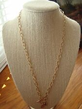 """Authentic Origami Owl 20"""" Gold Toggle Chain """"New"""" + >"""