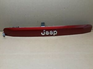 🏁2007-2017 Jeep Compass Patriot Lift Gate Trunk Trim Handle red