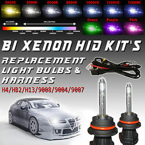 2x Xentec HID Bi-xenon Headlight Bulbs Replacement for H4/HB2 H13/9008 9004 9007